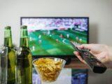Fodbold i fjernsynet